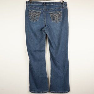 Lane Bryant Jeans - Lane Bryant Jeans Boot Cut Mid-Rise Medium Wash 16